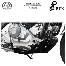 IBEX Motorschutz Honda NC700/750 S/X Schwarz