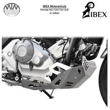 IBEX Motorschutz Honda NC 700/750 S/X Silber