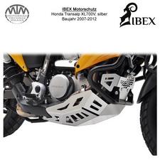 IBEX Motorschutz Honda Transalp XL700V 07-12 Silber
