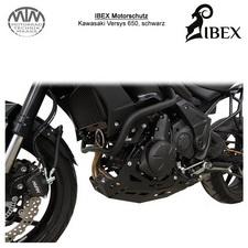 IBEX Motorschutz schwarz Kawasaki Versys 650