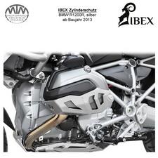 IBEX Zylinderschutz BMW R1200R 13- silber