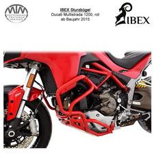 IBEX Sturzbügel Ducati Multistrada 1200 (15-) rot