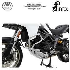 IBEX Sturzbügel Ducati Multistrada 950 (17-) silber