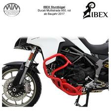 IBEX Sturzbügel Ducati Multistrada 950 (17-) rot