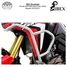 IBEX Sturzbügel Verkleidung Honda CRF 1000 Africa Twin 16-17, silber