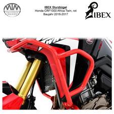 IBEX Sturzbügel Verkleidung Honda CRF 1000 Africa Twin, 16-17, rot
