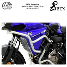 IBEX Sturzbügel Verkleidung Yamaha MT-07 Tracer 16-, silber