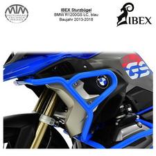 IBEX Verkleidungsbügel BMW R 1200 GS LC (13-18), blau