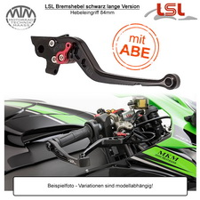 LSL Bremshebel für Buell Cyclone M2 / Lightning S1 (EB1) 98-02 lange Version in schwarz