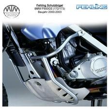 Fehling Schutzbügel für BMW F650GS (172/173) 2000-2003 in silber