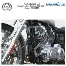 Fehling Schutzbügel für Harley Davidson Sportster 883/1200 88-03