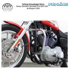 Fehling Schutzbügel 30mm für Harley Davidson Sportster Evo 883/1200 2004-