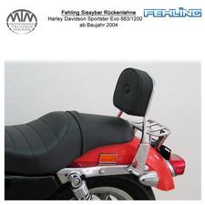 Fehling Sissybar Rückenlehne für Harley Davidson Sportster Evo 883/1200 2004-