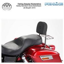 Fehling Sissybar Rückenlehne für Harley Davidson Dyna Switchback 2010-