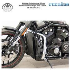 Fehling Schutzbügel 38mm für Harley Davidson Night Rod Special 2012-