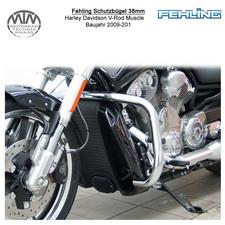Fehling Schutzbügel 38mm für Harley Davidson V-Rod Muscle 2009-2011
