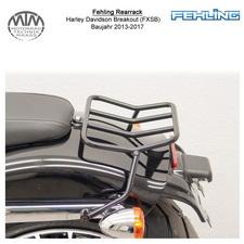 Fehling Rearrack für Harley Davidson Breakout (FXSB) 13-17 in schwarz