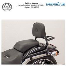 Fehling Sissybar für Harley Davidson Breakout (FXSB) 13-17 in schwarz