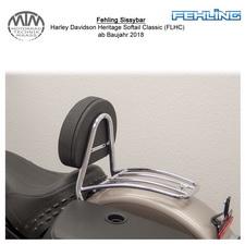 Fehling Sissybar für Harley Davidson Heritage Softail Classic (FLHC) 18-