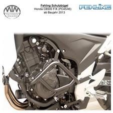 Fehling Schutzbügel für Honda CB500 F/X (PC45/46) 2013- in schwarz