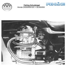 Fehling Schutzbügel für Honda CX500/650 E/C + GL500/650