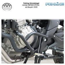 Fehling Schutzbügel 2tlg. für Honda CBF600 (PC43) 2008- in schwarz