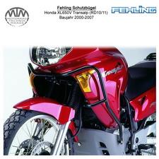Fehling Schutzbügel für Honda XL650V Transalp (RD10/11) 2000-2007 in schwarz