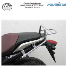 Fehling Gepäckträger für Honda Integra NC700D (RC62) 2012-2013