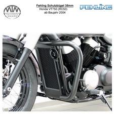 Fehling Schutzbügel 38mm für Honda VT750 (RC50) 2004- in schwarz
