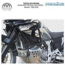 Fehling Schutzbügel für Honda XRV750 Africa Twin (RD07) 1996-2006 in schwarz
