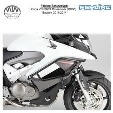 Fehling Schutzbügel für Honda VFR800X Crossrunner (RC60) 2011-2014 in schwarz