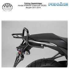 Fehling Gepäckträger für Honda VFR800X Crossrunner (RC60) 2011-2014 in schwarz