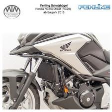 Fehling Enduro Schutzbügel für Honda NC750 X/XD (RC90) 2016- in schwarz