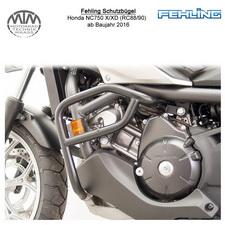 Fehling Schutzbügel für Honda NC750 X/XD S/SD (RC88/90) 2016- in schwarz