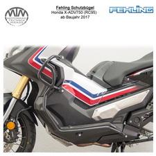 Fehling Schutzbügel für Honda X-ADV750 (RC95) 2017- in schwarz