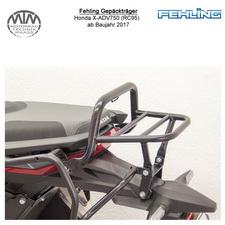 Fehling Gepäckträger für Honda X-ADV750 (RC95) 2017- in schwarz