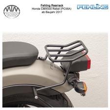 Fehling Rearrack für Honda CMX500 Rebel (PC56A) in schwarz