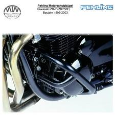 Fehling Motorschutzbügel für Kawasaki ZR-7 (ZR750F) 1999-2003 in schwarz
