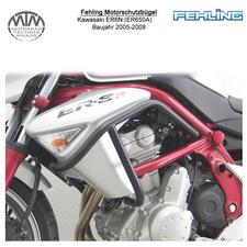 Fehling Motorschutzbügel für Kawasaki ER6N (ER650A) 2005-2008 in schwarz