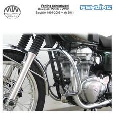 Fehling Schutzbügel für Kawasaki W650 99-06 + W800 11-