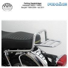 Fehling Gepäckträger für Kawasaki W650 99-06 + W800 11-