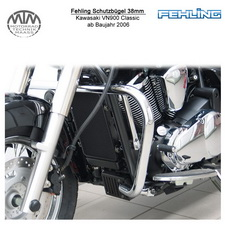 Fehling Schutzbügel 38mm für Kawasaki VN900 Classic 2006-