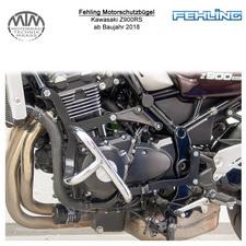 Fehling Motorschutzbügel für Kawasaki Z900RS 2018- in chrom
