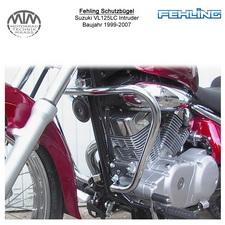 Fehling Schutzbügel für Suzuki VL125LC Intruder 1999-2007