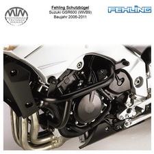 Fehling Motorschutzbügel für Suzuki GSR600 (WVB9) 2006-2011 in schwarz