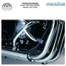 Fehling Motorschutzbügel für Suzuki GSX1400 (WVBN) 2001-2006