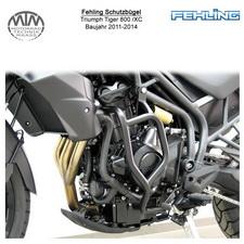 Fehling Schutzbügel für Triumph Tiger 800 /XC 2011-2014 in schwarz