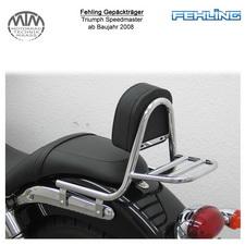 Fehling Sissybar Rückenlehne für Triumph Speedmaster 2008-
