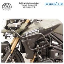 Fehling Schutzbügel oben für Triumph Tiger Explorer /XC 2012- in schwarz