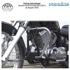 Fehling Schutzbügel für Yamaha XVS125 Drag Star (VE01) 2000-